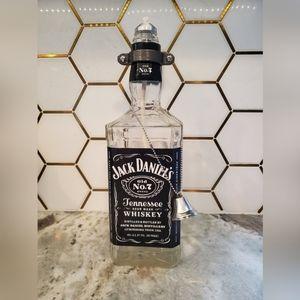 Upcycled Jack Daniels Tiki Sconce